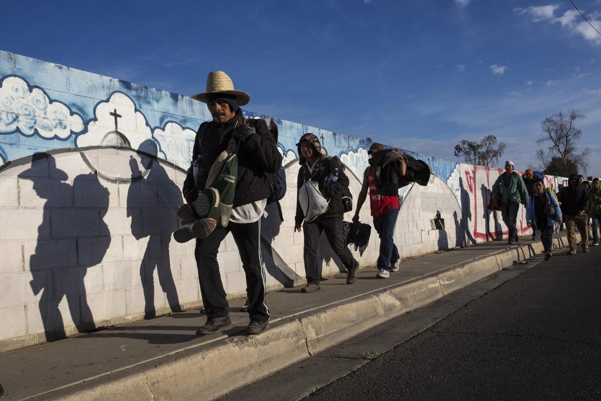 Caravan Migrants Weigh Options After Court Blocks Trump Ban