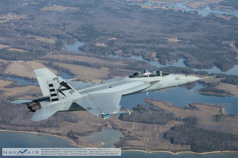 U.S. Navy Just Got Its First New F/A-18 Super Hornets — Here Are The Key Upgrades